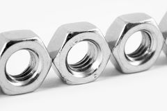 Nuts and bolts Royalty Free Stock Photography