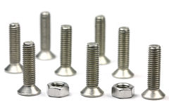 Nuts and Bolts Stock Images