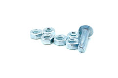 Nuts and bolts Stock Photography