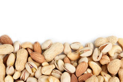 Nuts border 4 Royalty Free Stock Image