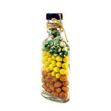 Nuts in the bottle Royalty Free Stock Photography