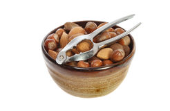 Nuts in a bowl Royalty Free Stock Photo