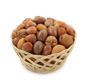 Nuts in bowl Stock Photos