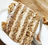 Nuts Cake Stock Image