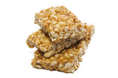 Nuts with caramel. Royalty Free Stock Photography