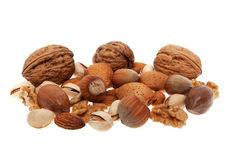 Nuts collection Stock Photos