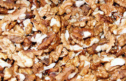 Nuts core Royalty Free Stock Images