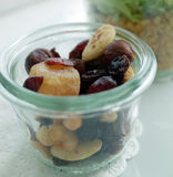 Nuts and Dried Fruit Royalty Free Stock Photos