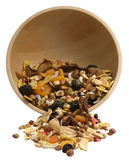 Nuts and Dried fruits collection Stock Images