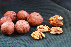Nuts . Royalty Free Stock Photography