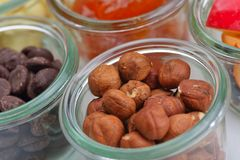 Nuts and dry fruits mix Royalty Free Stock Image