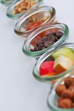 Nuts and dry fruits mix Stock Photo