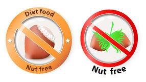 Nuts free Royalty Free Stock Images