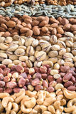 Nuts fruit mix Stock Image