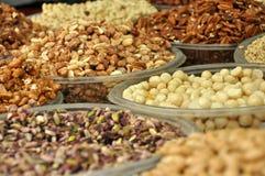 Nuts. Ha-Carmel market,Tel-Aviv,Israel Stock Photos