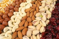 Nuts Hintergrund Lizenzfreies Stockbild