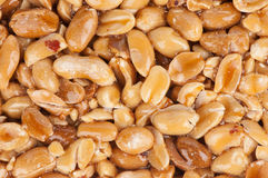 Nuts in honey Royalty Free Stock Photo