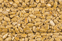 Nuts-and-honey bar background Stock Photos