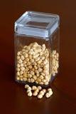 Nuts jar -  hazelnut Royalty Free Stock Image
