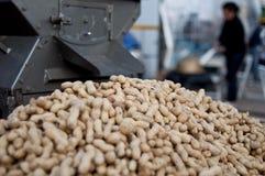 Nuts & machine Stock Photo