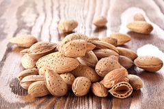 Nuts Mandeln Stockfotografie