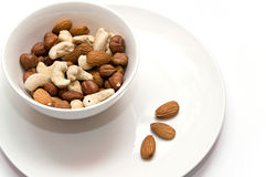 Nuts mix Stock Photos