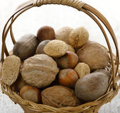 Nuts Mix Stock Photos