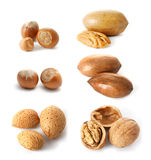 Nuts mix royalty free stock photos