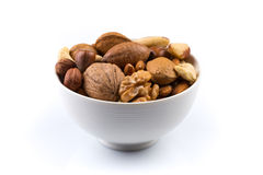 Nuts mix in bowl Stock Photography