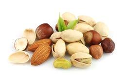 Nuts mix close up Stock Photos