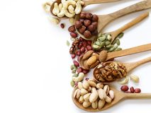 Nuts mix for a healthy eating Stock Image