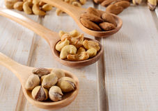 Nuts mix Stock Photography