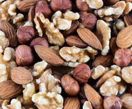 Nuts mixed Stock Images