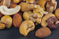 Nuts Mixture royalty free stock image
