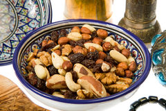 Nuts mixture Royalty Free Stock Photography