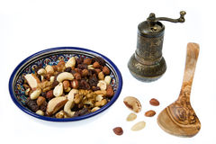 Nuts mixture Royalty Free Stock Photos