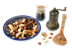 Nuts mixture Stock Photography