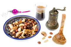 Nuts mixture Stock Image