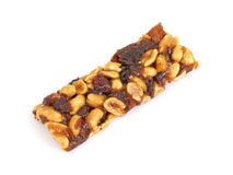 Nuts and Natural Fruit Bar Stock Image