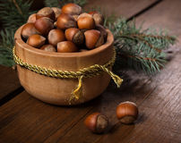 The nuts. Stock Photo