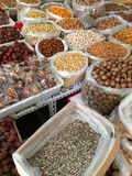 Nuts and oil seeds Royalty Free Stock Photography
