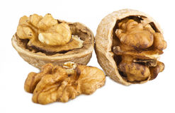 Nuts open Royalty Free Stock Images