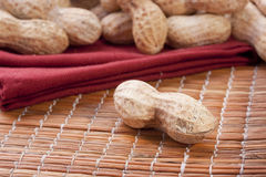 Nuts Peanuts Stock Images