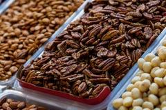 Nuts Pekannuss Stockbild