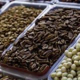 Nuts Pekannuss auf dem Markt Stockfoto