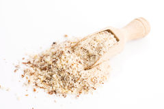 Nuts powder Stock Image