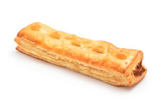 Nuts puff pastry Stock Photography