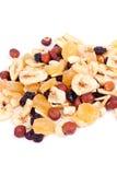 Nuts, raisin, dried fruit Royalty Free Stock Image