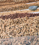 Nuts for sale Royalty Free Stock Photo