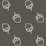 Nuts seamless hand drawn illustration Stock Images
